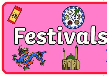 Festivals and Cultural Celebrations Display Banner - Australia