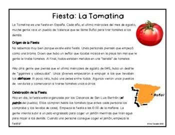 Spanish festival and culture La Tomatina