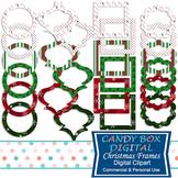 Christmas / Holiday Digital Frame Clip Art