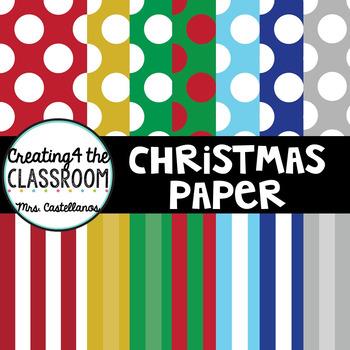 Festive Christmas Digital Paper