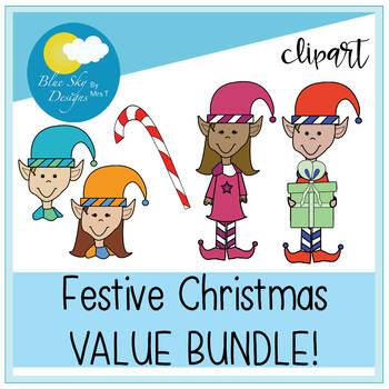Festive Clip Art BUNDLE!