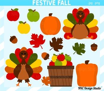 Festive Fall Clip Art