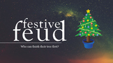 Festive Feud - fun powerpoint game for Christmas and the h