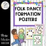 Festive Folk Dance Formation Posters