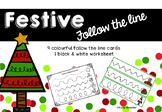 Festive Follow the Line Fine Motor Pencil Control and Handwriting skills