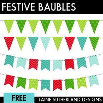Festive Freebie #2 - Bunting!