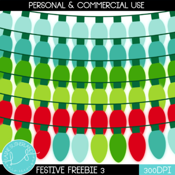 Festive Freebie #3 - LIGHTS!