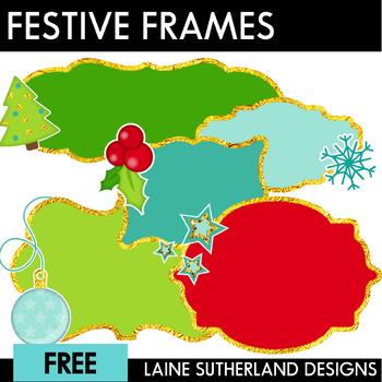 Festive Freebie #4 - Frames
