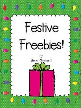 Festive Freebies-Letter to Santa