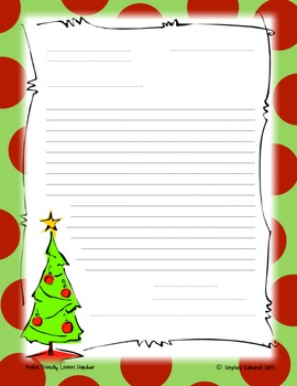 Festive Friendly Letters