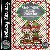 Festive Fun Holiday Riddle Pack--READ! THINK! WRITE!