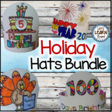 Holidays Hats Crafts for Holiday Activities Bundle