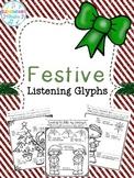 Festive Music Listening Glyphs