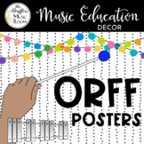 Festive Orff Posters {Editable}