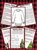 Festive Sweater Writing: A Holly, Jolly Writing Activity & Craftivity