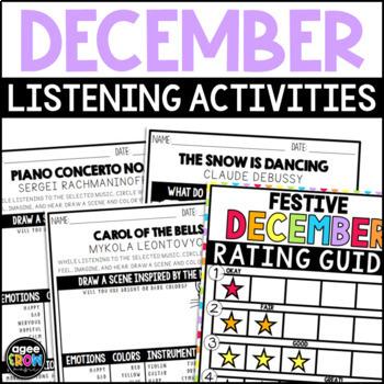 Winter Classical Music Listening, Winter December, Christmas Activities
