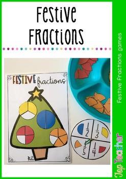 Festive fractions game
