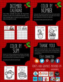 Christmas Math Activities K-2