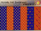 Festively Fall Backgrounds {FREEBIE}