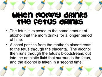 Fetal Alcohol Syndrome Powerpoint for FCS Child Development