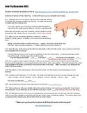 Fetal Pig Dissection (KEY)