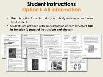 Fetal Pig Dissection Laboratory: Instructional Guide & Student Worksheets