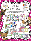 Fetch A Good Book Library/Media Center Pack {with EDITABLE