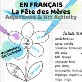 Fête des Mères | Adjective Art Activity