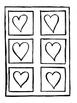 Fête des mères : Coeurs, projet d'art à la manière de Jim DINE
