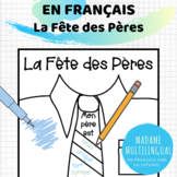 Fête des pères | Adjective Art Activity