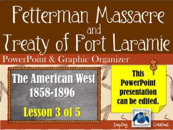 Fetterman Massacre & Treaty of Fort Laramie - PowerPoint &