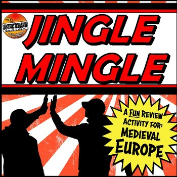 Feudal Europe Jingle Mingle Fun Class Review Activity for Medieval Europe
