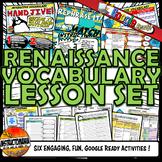 Renaissance Interactive Vocabulary Activity Set Google Ready Distance Learning