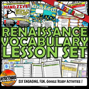 Renaissance Vocabulary Set