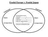 Feudal Europe v. Feudal Japan