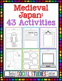 Interactive Notebook for Feudal - Medieval Japan: 43 Activities