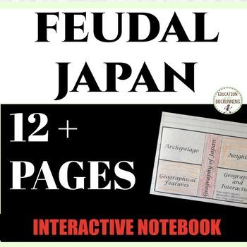 Japan And Europe Feudalism Teaching Resources Teachers Pay Teachers