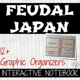 Feudal Japan Interactive Notebook Graphic organizers on Me