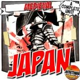 Feudal or Medieval Japan Unit Plan Set: Common Core Lesson