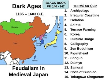 Feudalism in Medieval Japan LESSON BUNDLE