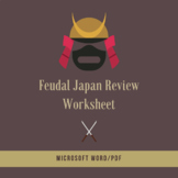 Feudal Japan Response Questions
