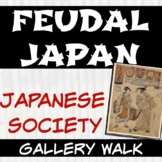 Feudal Japan Activity Social Classes Gallery Walk