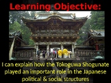 Feudal Japan & the Tokugawa Shogunate Lesson