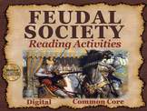 Feudal Society Reading Activities