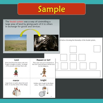 Feudal System Unit for Special Education