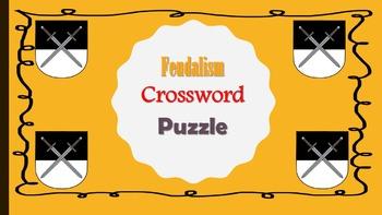 Feudalism Crossword Puzzle