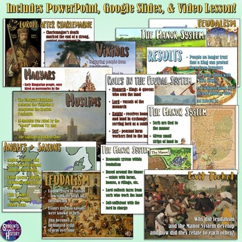 Feudalism Lesson Plan Bundle