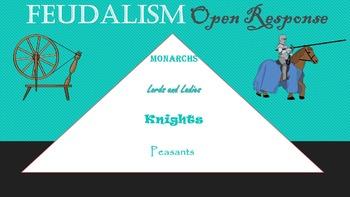 Feudalism Open Response