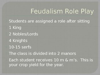 Feudalism Simulation