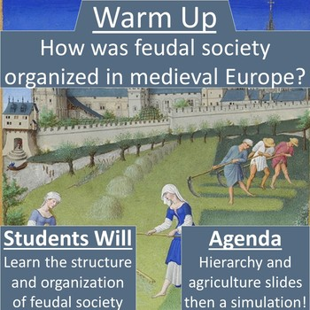 Feudalism and Manorialism Simulation